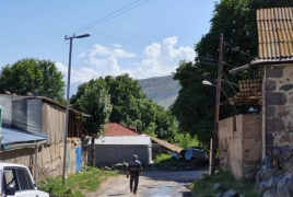 One more Armenian village gets modern street lighting system