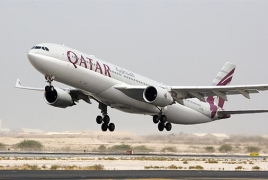 Qatar Airways resumes daily Yerevan services from Oct. 5