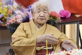 One person in every 1,500 in Japan is aged 100 or more