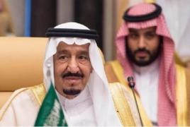 Kороль и наследный принц Саудовской Аравии поздравили президента РА с Днем независимости
