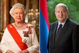 Եղիսաբեթ II Անկախության տոնի առթիվ շնորհավորել է ՀՀ նախագահին