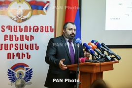 Karabakh Conservative Party leader tests positive for Covid-19