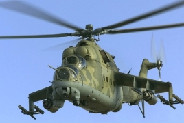 Azerbaijan admits loss of one helicopter in Karabakh