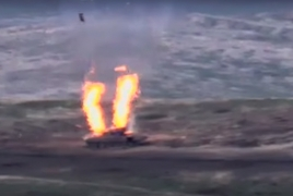 More footage from Azerbaijan arms destruction published