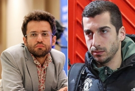 Mkhitaryan, Aronian raise Karabakh's right to live in peace