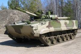 Карабахские военные захватили 11 единиц азербайджанской бронетехники