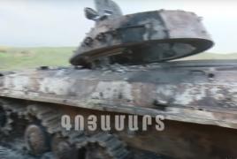 Արցախի ՊԲ-ն ադրբեջանցի զինծառայողների դիեր է ցուցադրել