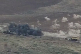 Armenia unveils more footage from destruction of Azerbaijani equipment