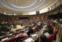 Armenian parliament condemns Azeri aggression against Karabakh