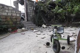 Ударом Азербайджана поврежден жилой дом рядом с офисом МККК и The HALO Trust в Арцахе