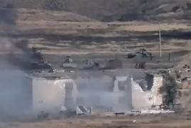Karabakh army destroys entire Azerbaijani military unit