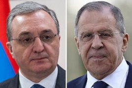 Главы МИД Армении и РФ сочли неприемлемыми шаги внерегиональных стран, нарушающие мир в регионе