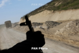 Azerbaijani helicopter destroyed by Karabakh falls on Iranian soil
