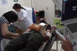 Раненый азербайджанским обстрелом французский журналист в тяжелом состоянии