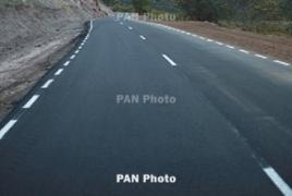 Azerbaijan shells highway in Armenia