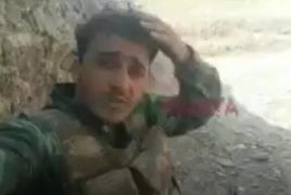 Появилось первое видео, снятое воюющими против Карабаха сирийскими боевиками