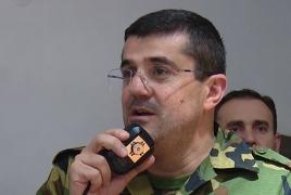 Президент Карабаха: На данный момент огонь по Гяндже прекращен, чтобы не допустить мирных жертв