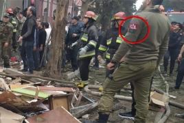 Помощник Алиева опубликовал и сразу удалил фото человека с турецкой нашивкой в Гяндже