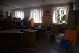 Azerbaijan bombing Karabakh kindergartens, schools (Photos, videos)