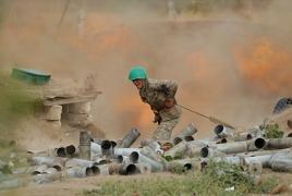 Армянская сторона уничтожила танк и 2 БМП Азербайджана