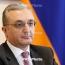 Mnatsakanyan: World's top diplomats stress consequences of Azeri aggression
