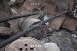 Amnesty Int.: По жилым домам Степанакерта стреляют запрещенными кассетными снарядами израильского производства