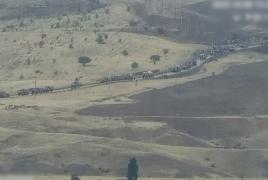 Опубликованы кадры разгрома азербайджанской группировки