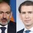 Пашинян и Курц обсудили осуществление права народов на самоопределение