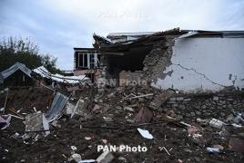 Stepanakert comes under rocket fire from Azerbaijan