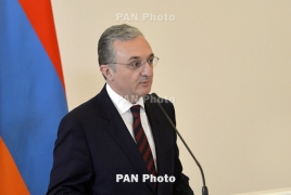Armenian Foreign Minister meeting OSCE mediators in Moscow