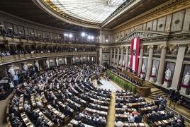 Austrian parliament condemns Turkish military interference in Karabakh