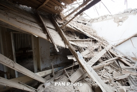 Азербайджан обстрелял «Смерчем» Мартунинский район, убит мирный житель