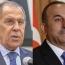 Лавров и Чавушоглу обсудили важность согласования механизмов контроля перемирия в Карабахе