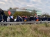 Armenians block France-Belgium highway to demand Karabakh recognition
