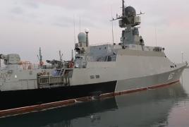 РФ проводит учения в Каспийском море
