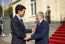Pashinyan, Trudeau discuss Karabakh over the phone
