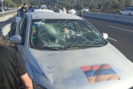 Israel: Azerbaijanis attack Armenians returning from rally