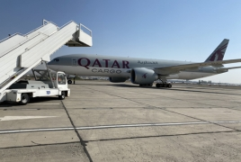 100 tons of humanitarian aid delivered to Armenia through Turkish airspace