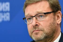 Senator: Armenia must officially ask Russia for anti-terrorism operation
