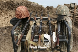 Karabakh Army reports 43 more deaths raising the toll to 772