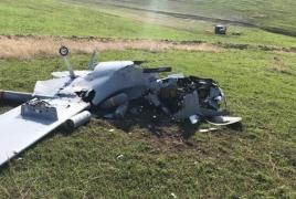 Karabakh army displays remains one more Bayraktar drone