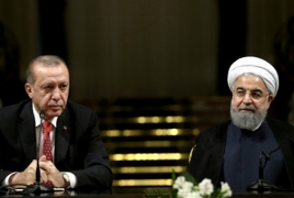 Rouhani to Erdogan: War is no solution to Karabakh conflict