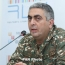 Hovhannisyan: Karabakh army has destroyed most Azeri subversive groups