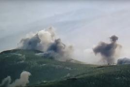 Karabakh displays destruction of Azerbaijani manpower, fortifications