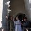 Couple marry in Karabakh church bombed by Azerbaijan