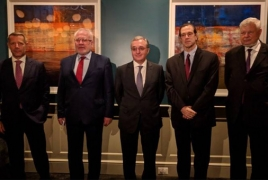 Armenia Foreign Minister meets OSCE envoys in Washington, DC