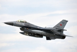 New satellite image shows Turkish F-16s stationed in Azerbaijan's Gabala