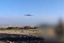 Armenia displays combat drone in use