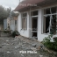 Azerbaijani air force shells Karabakh town of Martuni