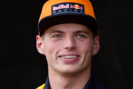 Formula 1 racer Verstappen donates to Armenia's insurance fund for soldiers